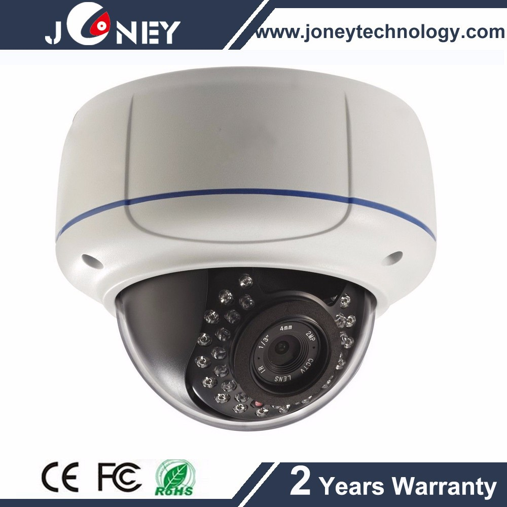 Clear vision and lower price Analog Security Plastic 1.0MP IR High Definition CVI Camera