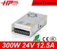 High quality China supplier constant voltage single output CE RoHS approved 300w 24v power supply led driver 1250ma