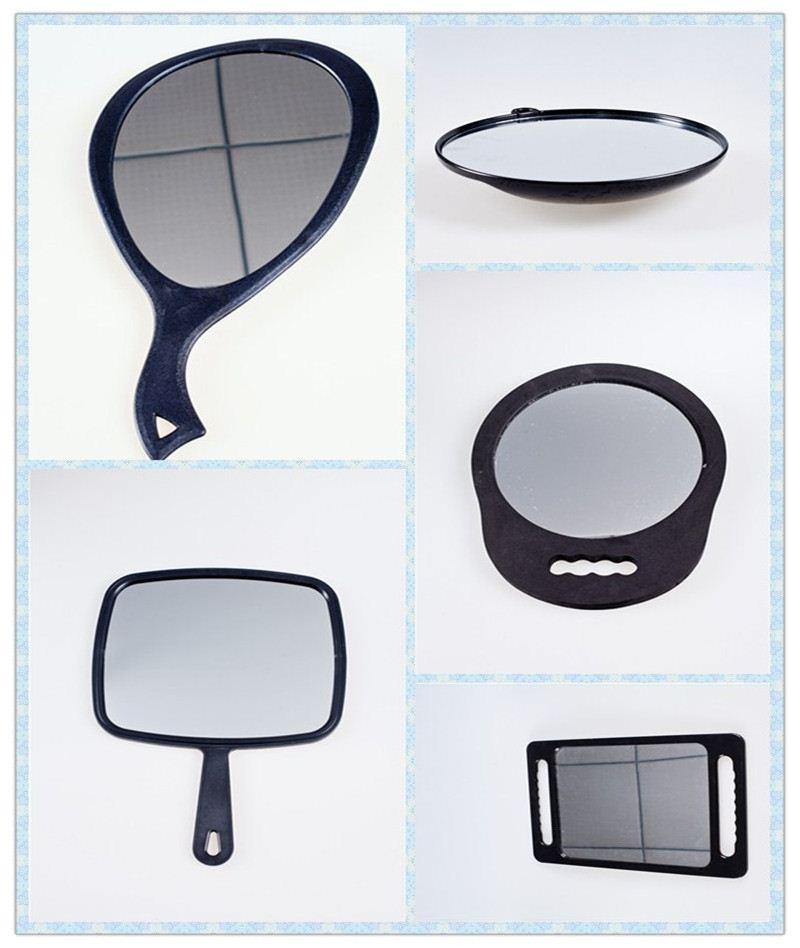 Plastic colorful mirror bathroom vanity mirror hinges for Colorful bathroom mirrors