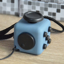 Wholesale Good quality fidget cubes Christmas gift stress anxiety release cube toys 3.3cm magic fidget cube