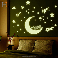 Glow In The Dark star Stickers Luminous Wall Stickers