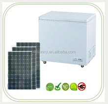 100L~ 1065L 12V 24V DC Deep Chest Freezer 100% Solar Powered Refrigerator 1