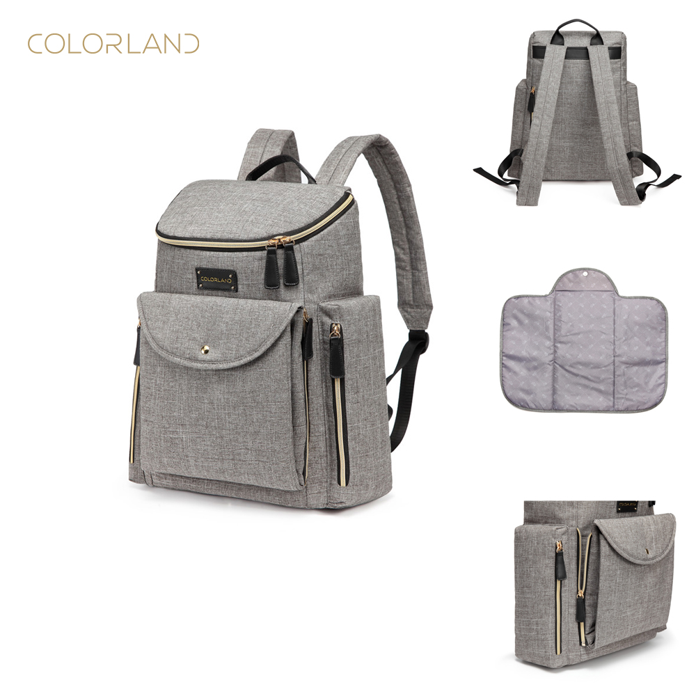 62b5dfeddbe3 On promotion stylish diaper bag backpack baby changing bag for new mom   dad
