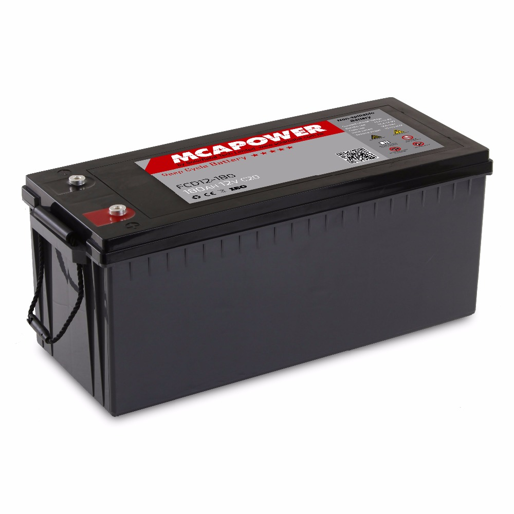 Sealed Maintenance Free UPS Solar Exide Inverter Battery 12v 180ah