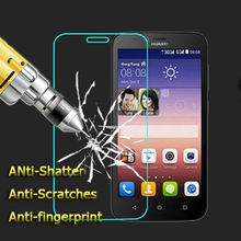 0.3mm 2.5D Rounded Edges 9H Premium Anti-shatter Tempered Glass for Huawei Ascend Y550 LCD Screen Protector film