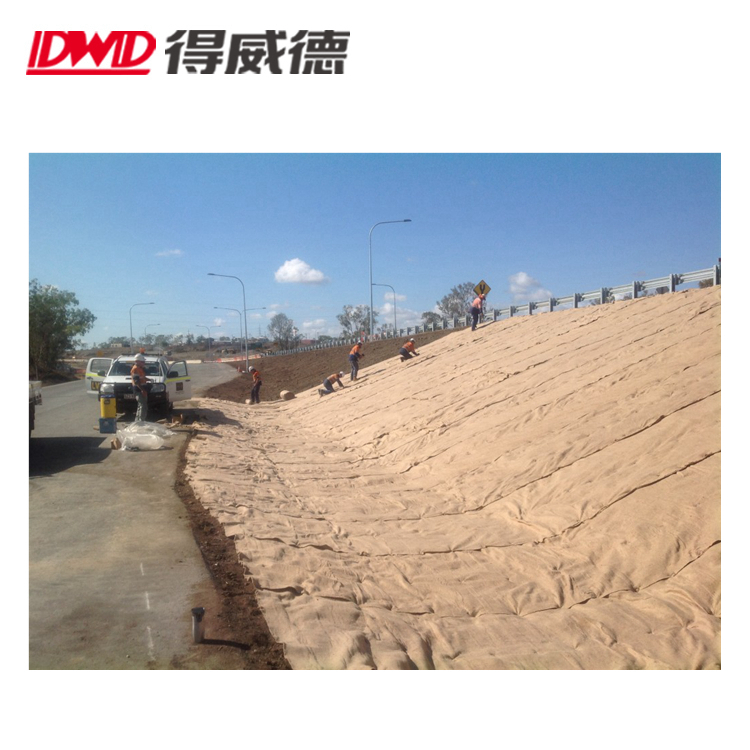JUTE MATTING FOR EROSION CONTROL WEED CONTROL WEEDS MATERIAL IN 2M WIDE 330GSM