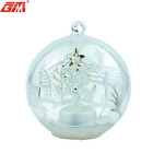 Glass Decoration Glass Glass Decoration Hand Painted Glass Ball Christmas Decoration