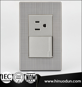 118K-17 Chile Saudi Arabia stainless steel wall outlets