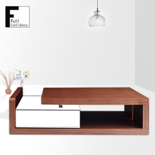Customized Elegant Wooden Coffee Tables Furniture Modern Design