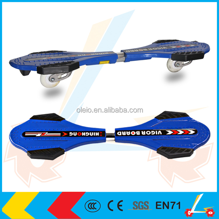 fashion Two-wheel waveboard, snakeboard with OEM service