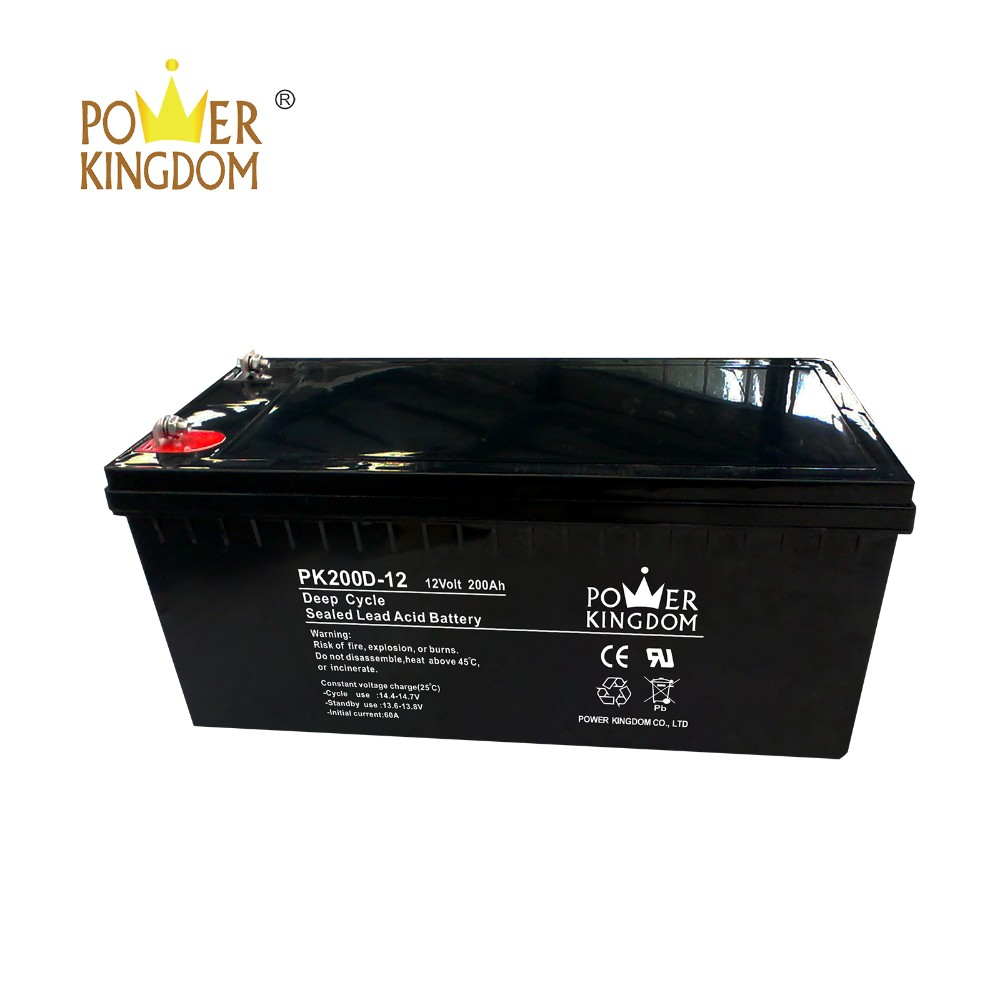 Power Kingdom High-quality amg deep cycle batteries wholesale wind power systems-3