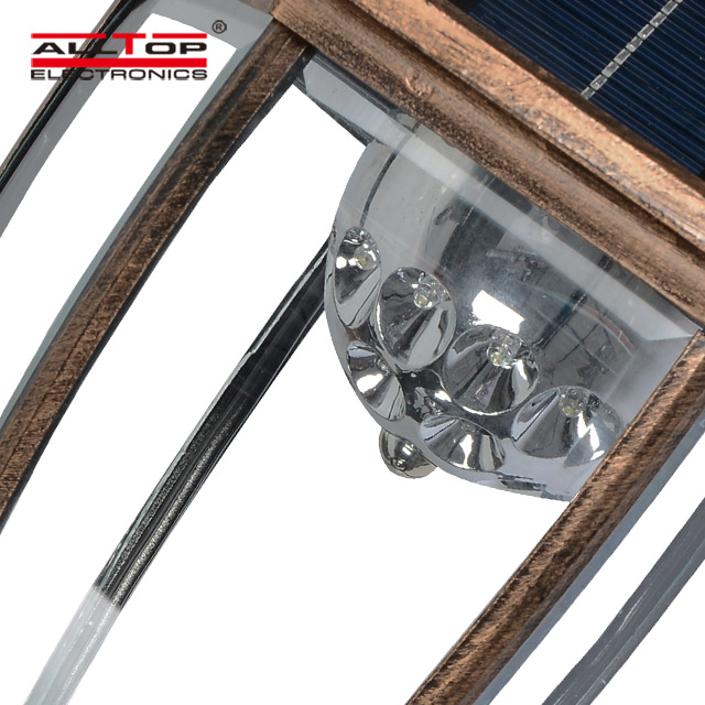 New products high quality led lighting outdoor 3W solar led wall light