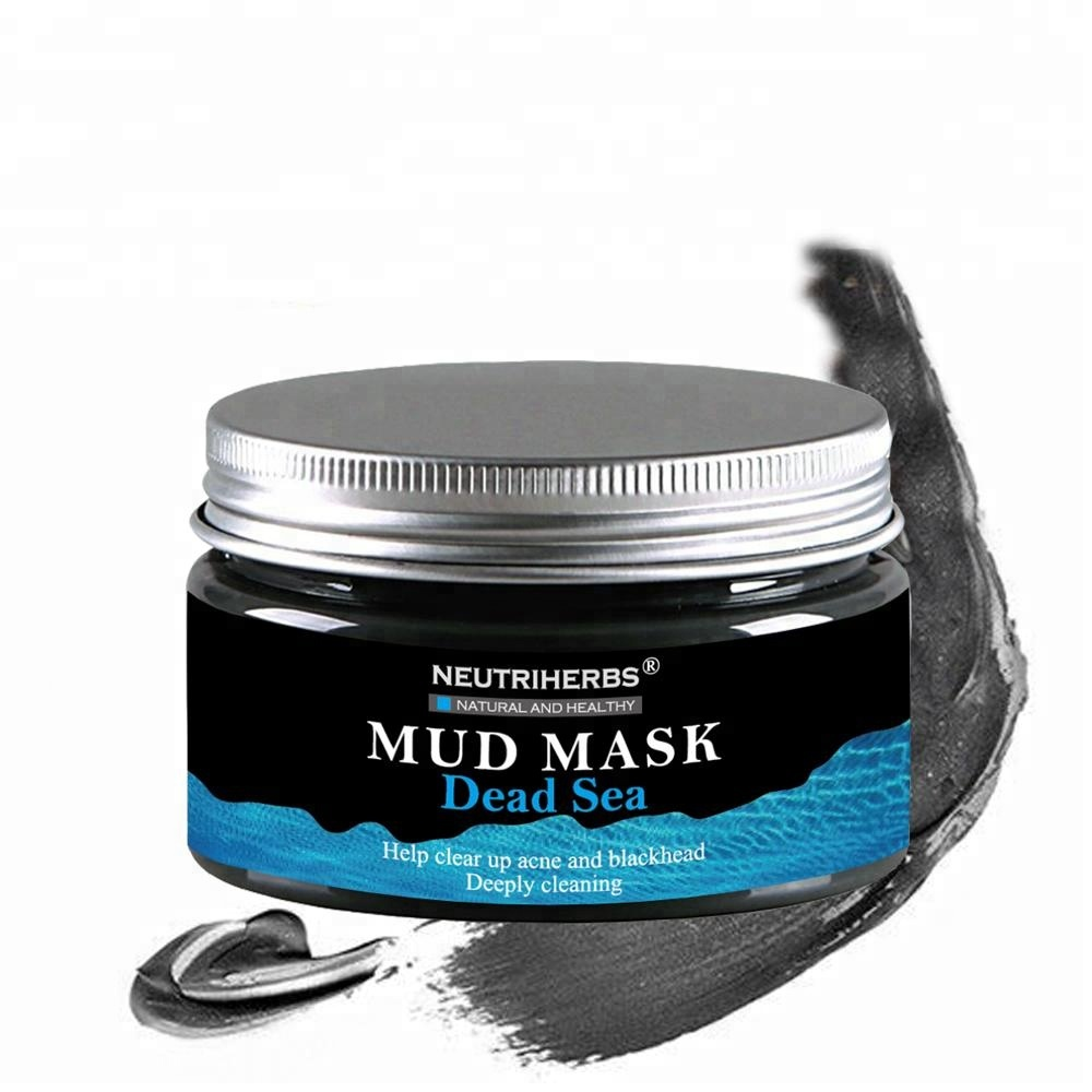 In Stock Absorb Excess <strong>Oils</strong> Organic Mung Bean Mud Mask Face Mineral Beauty System Dead Sea