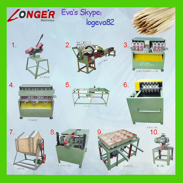 Bamboo Tooth Picks Production Line|Hot Sale Toothpicks Making Machine|Bamboo Toothpicks Machine for sale