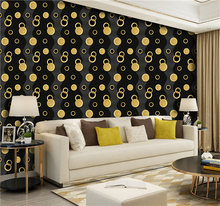 New creative city style mysterious  bf wallpaper decorative 3d for living room
