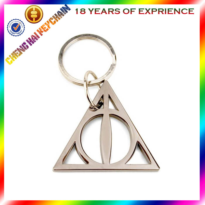 triangle keychain