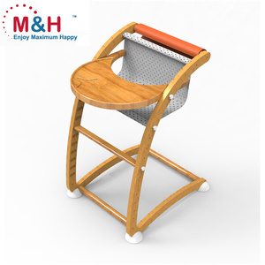 Wooden Baby High Chair wood high chair wood dining chairs with Rocker