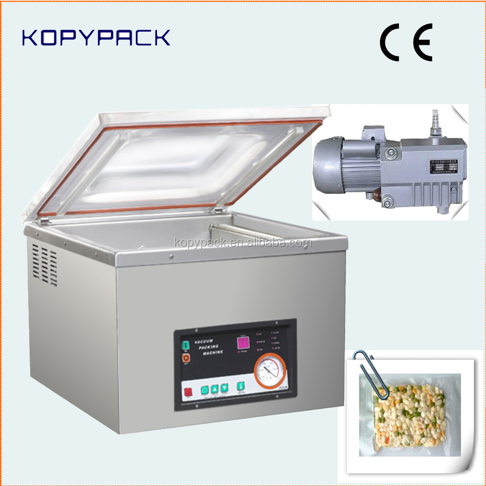 single chamber nitrogen vacuum sealer with stainless steel body
