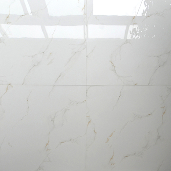 Hb6248 Super White Nano Polished Porcelain Floor Tiles 600x600