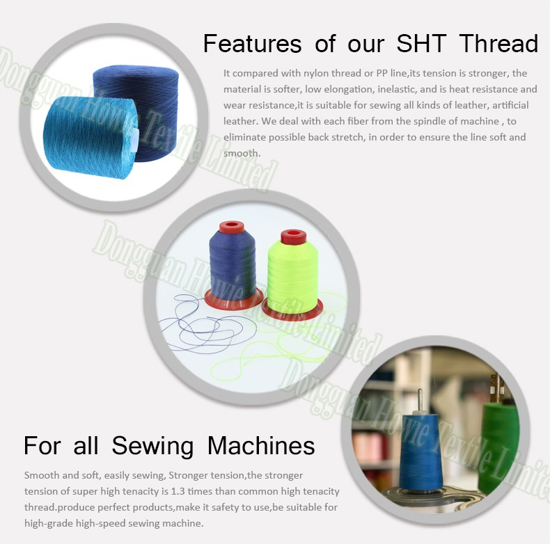Leather Shoe Stiching Thread/high Tenacity Polyester Sewing Thread ...