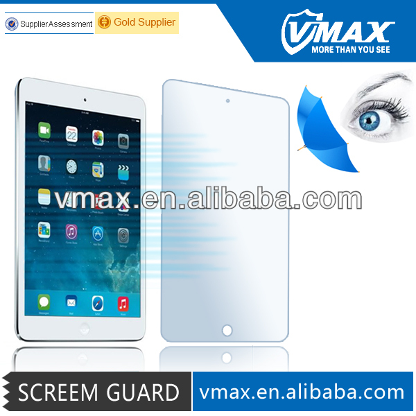 Protect your eyes! Anti Blue Light screen protector for iPad mini / iPad mini 2 oem/odm (Blue Light Cut Film)