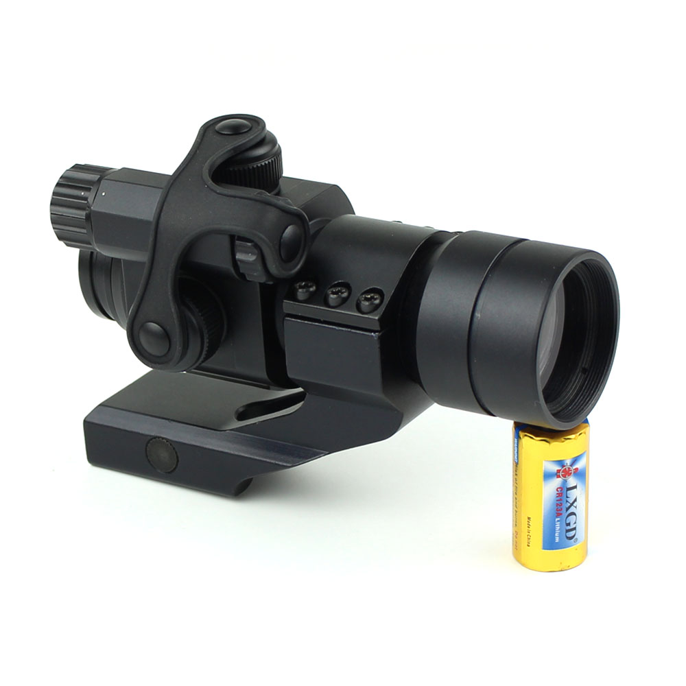 HD-1X weapons and guns hunting tactical red dot sight scope