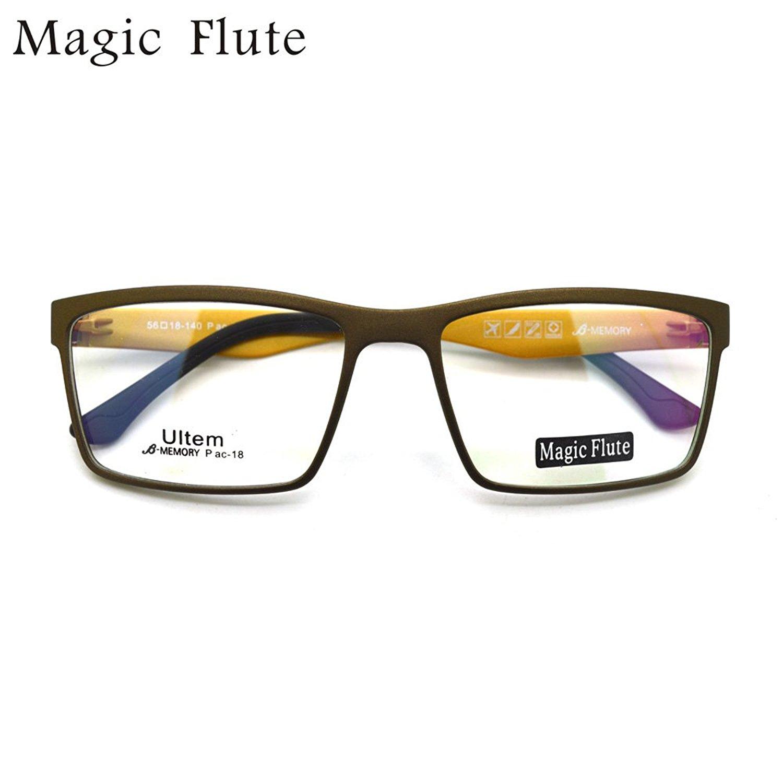a714b0a3c95 Get Quotations · ultem light optical frames eyeglasses big shape fashion  prescription eyewear pac-18