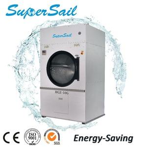 Commercial Tumble Dryer Laundry Plant Used High Spin Gas Dryers