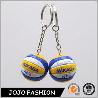 Cheap Price Wholesales New Style Personalized Custom Volleyball Souvenir Keychain