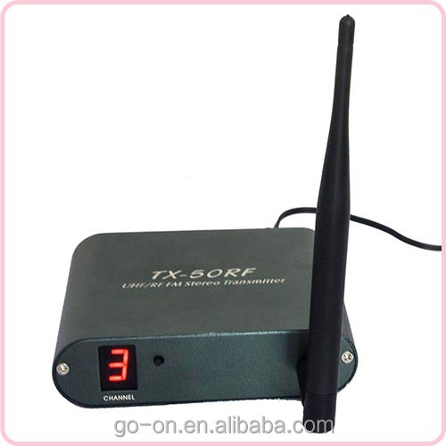 GO-ON TX-50RF wireless stereo transmitter ( max 6 channels)