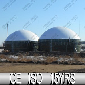 Methane Gas Storage, Biomass From China Biogas Plant
