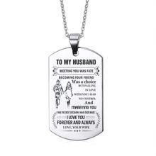 Кулон Vnox DAD is My Guardian Angel, ожерелье из нержавеющей стали, на заказ, Бесплатная гравировка, имя, любовь, логотип, ID-бирка, аксессуар(Китай)