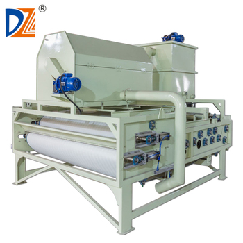 Sludge Dewatering Thickening Stainless Steel Belt Press in China
