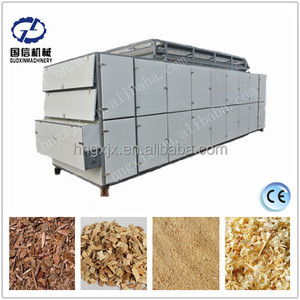 Best price and good quality wood sawdust drying equipment