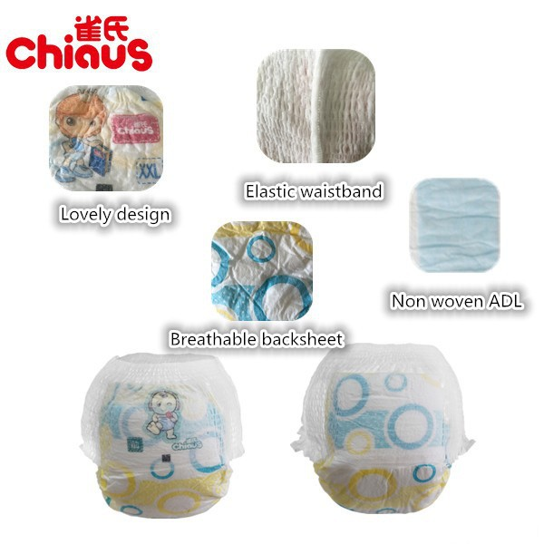 Chiaus disposable baby diapers training pants pampering looking for Nigeria distributor