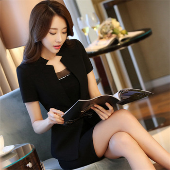 a7f5fa4a08b fashionable womens designer tuxedo suits slim ladies office wear pants suits