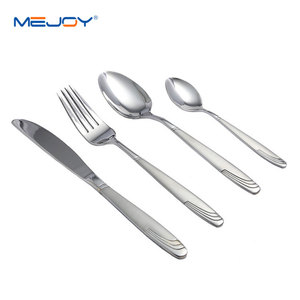 Hot selling 24 piece 18 10 stainless steel flatware with gift box