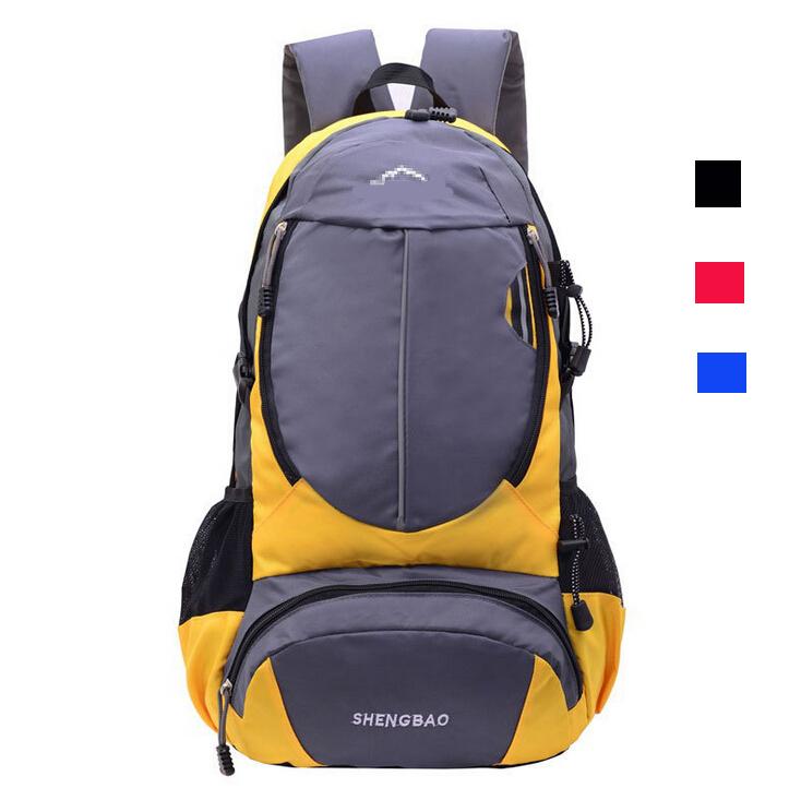 884602c215 Get Quotations · 2015 Travel Backpacks Men Women Travel Backbag Outdoor  Waterproof Nylon Sport Bags Camping Mountaineering Hiking Shoulder