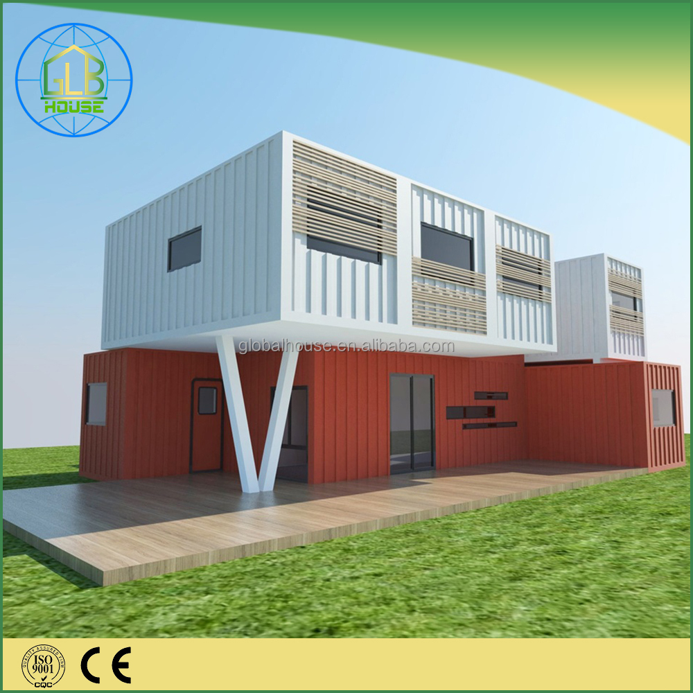 Modern prefabricated modular container vacational village container hotel room
