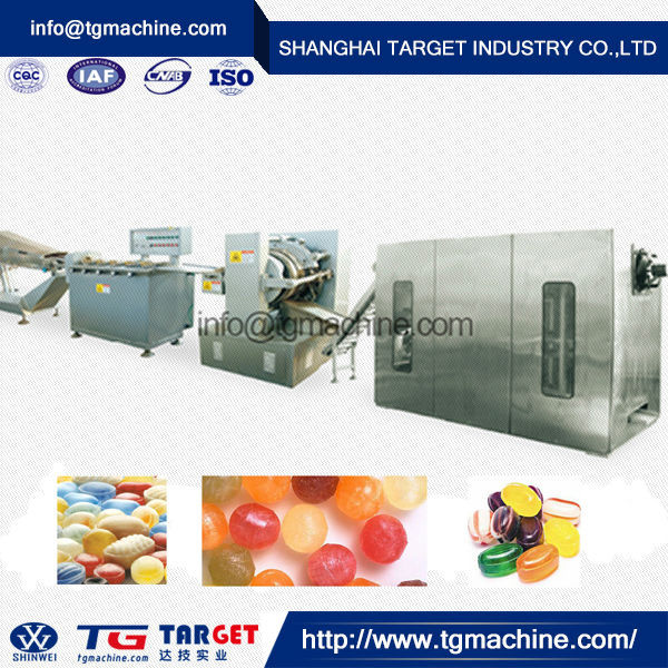 CE proved high-tech automatic hard candy making plant