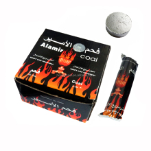 Popular silver hookah charcoal alamir coal