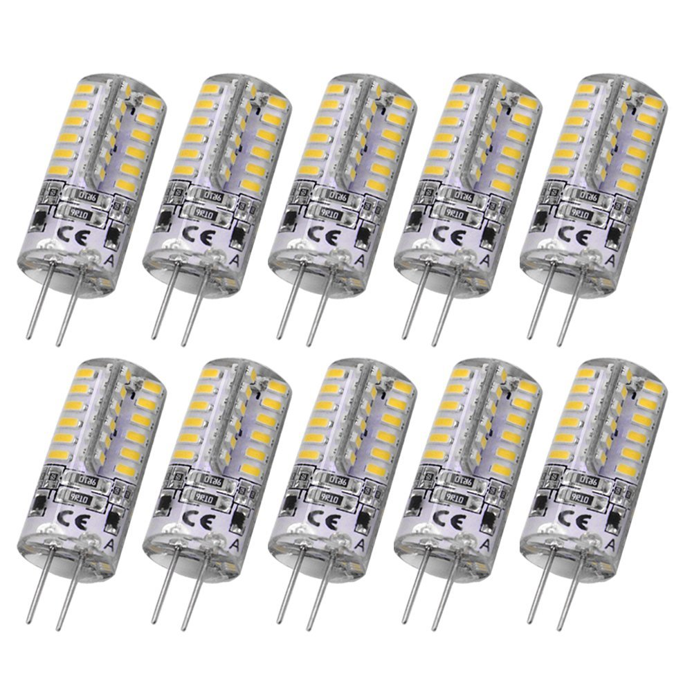 Get Quotations · Rayhoo 10pcs Set G4 48-LED Warm White Light Bulb L&s 3 Watt DC 12V  sc 1 st  Alibaba & Cheap 12v Led Halogen find 12v Led Halogen deals on line at Alibaba.com