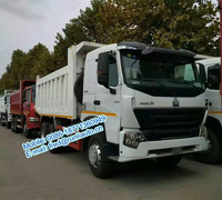 Stock on hand Sinotruck Howo A7 340HP LHD 6X4 10 wheel 13 ton dump truck usd3300 per set for sale