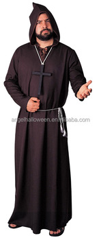 Black Monk Rope Costume Adult Easy Man Halloween Cosplay Costumes AGM1578  sc 1 st  Alibaba & Black Monk Rope Costume Adult Easy Man Halloween Cosplay Costumes ...