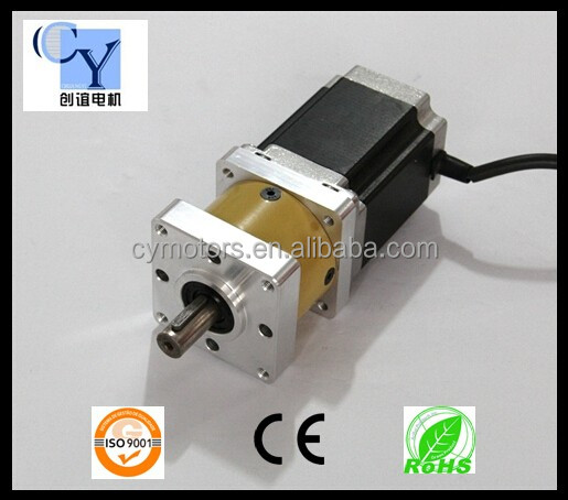 Hot Sales! Square Nema 23 geared Hybrid Stepper Motor