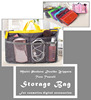 13 Layers Functional Double Zippers Mesh Pockets Tote Cosmetic Storage Bag