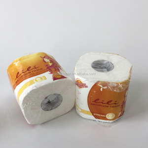 Quality Soft Bathroom Tissue in Paper Wrap