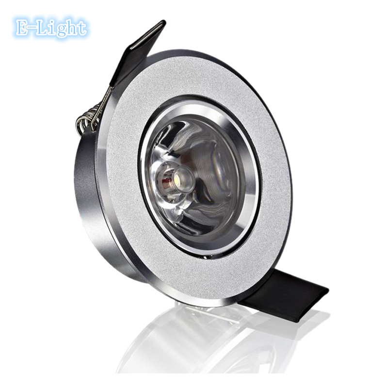 dimmable led ceiling spot light 1w 3w 2 cut 60mm spotlight wall light ceiling spotlamp rgb. Black Bedroom Furniture Sets. Home Design Ideas