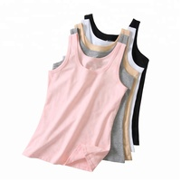 Factory price adults tank top combed cotton women regular tank top