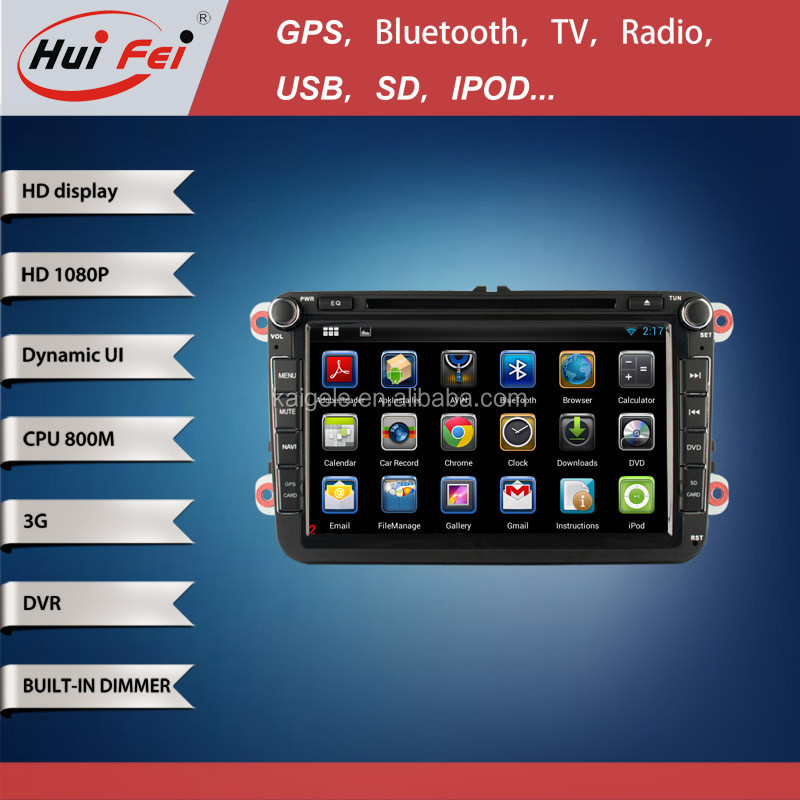 Android 4.4.2 Car DVD Player For Volkswage Passat B6 2009-2011Car Radio